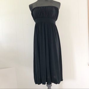 Banana Republic Silk Strapless Dress Size 6
